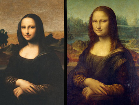 Bức họa Mona Lisa trẻ hơn