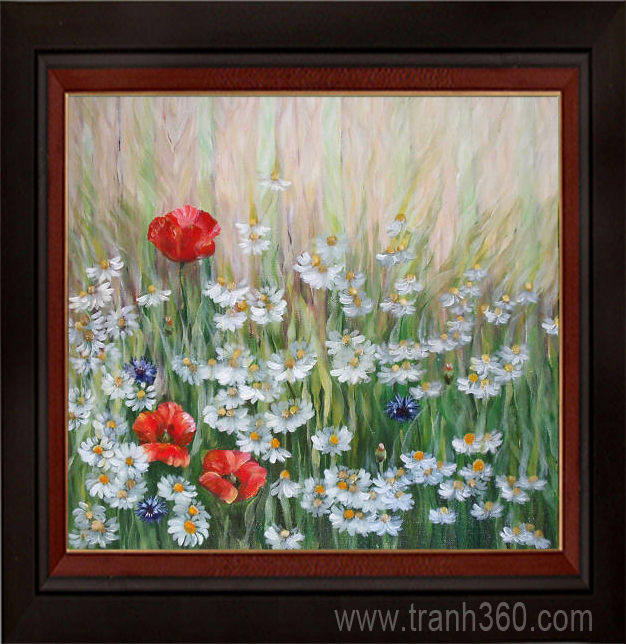 Tranh hoa sơn dầu