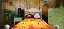 Vẽ tranh tường phòng ngủ