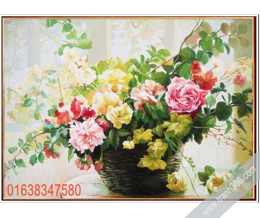 Tranh tinh vat hoa 10
