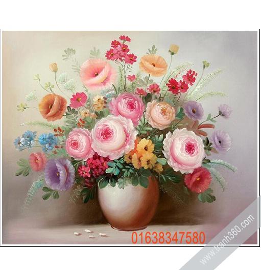 Tranh tinh vat hoa 17