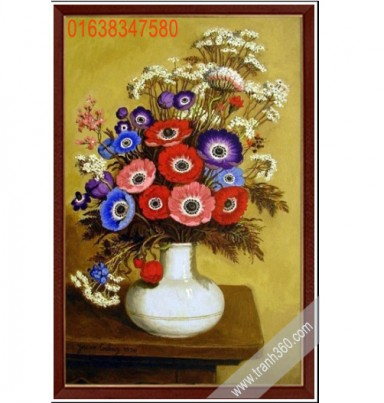 Tranh tinh vat hoa 25