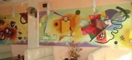 Vẽ tranh tường cho quán cafe, quán karaoke