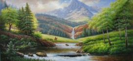 Cách vẽ tranh phong cảnh