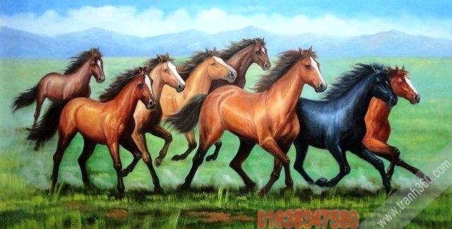 Tranh ngựa Giáp Ngọ
