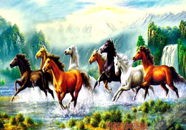 Tranh ngựa 2014
