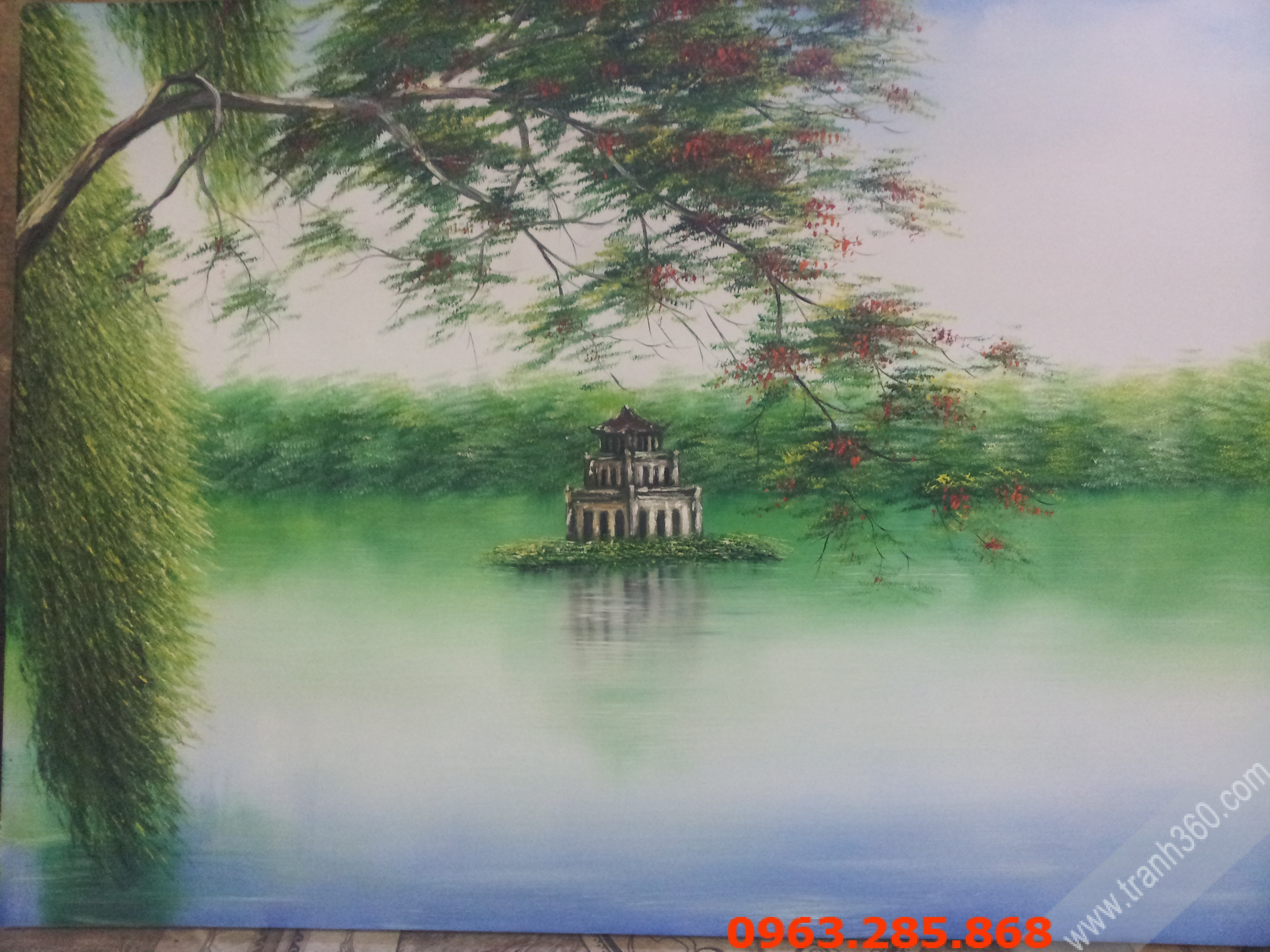 Tranh phong cảnh Ho guom