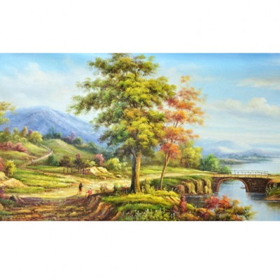 tranh phong canh rung 33