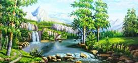 11 bức tranh sơn dầu phong cảnh nước ngoài đẹp nhất