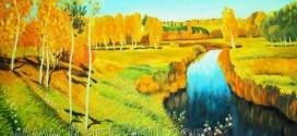 Những bức tranh sơn dầu phong cảnh đẹp treo phòng khách