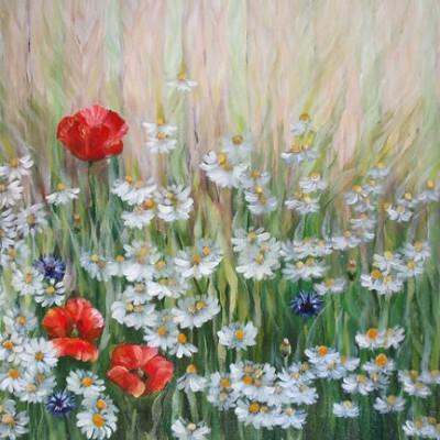 tranh hoa phong ngu