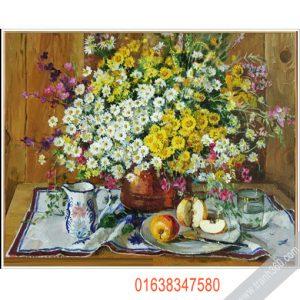 Tranh tinh vat hoa 11