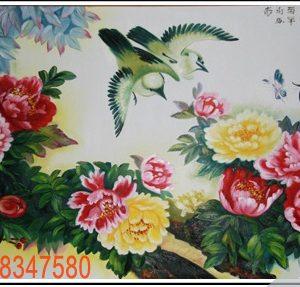 Tranh tinh vat hoa 12 dep