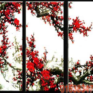 Tranh hoa đào bộ